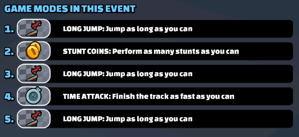 Game Modes In This Event